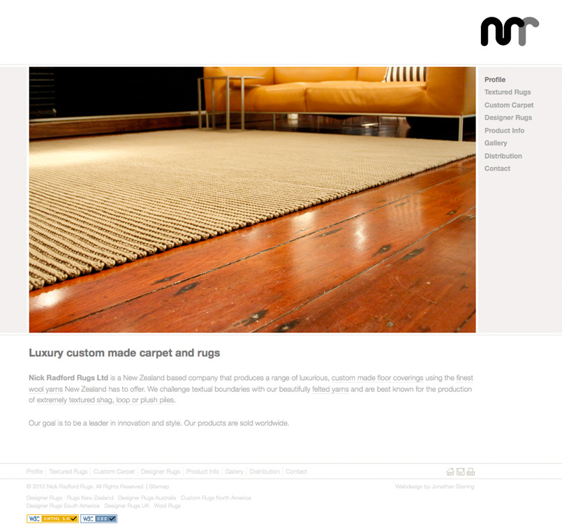 Nick Radford Rugs